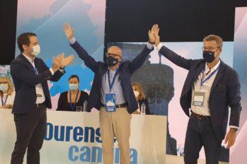 Baltar, reelixido presidente do PP ourensán