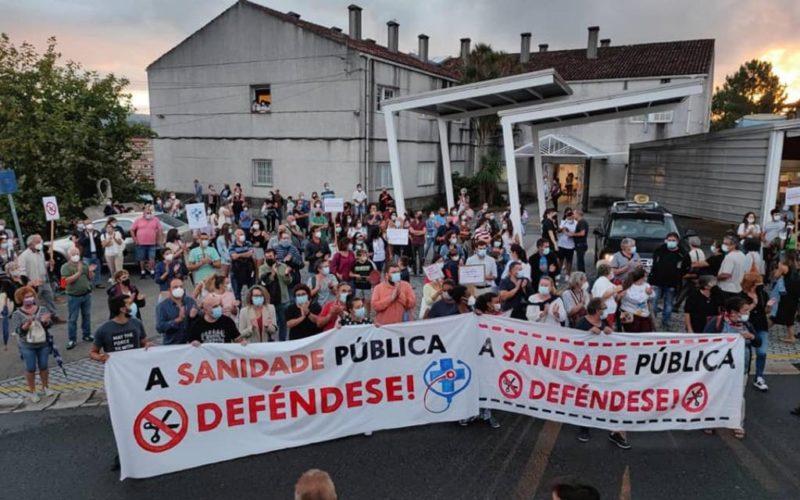 AporM apoia a concentración en defensa da sanidade pública en Mondariz