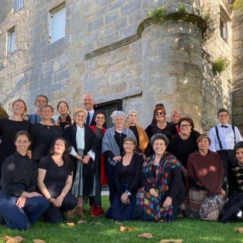 Exitoso obradoiro de teatro veciñal no Mosteiro de Oia