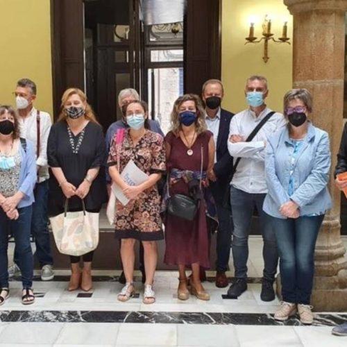PSdeG Ourense manifesta o seu apoio á Plataforma en defensa da Universidade Popular