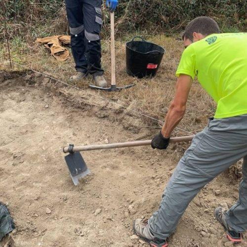 Nova escavación no xacemento arqueolóxico lucense de Proendos