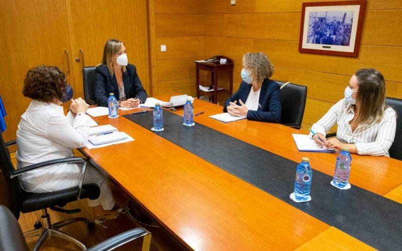 Concello de Ponteareas e a Xunta reúnense sobre competencias en política social