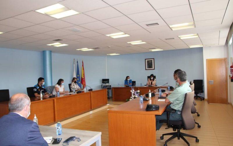 Xunta Local de Seguridade en Salceda de Caselas