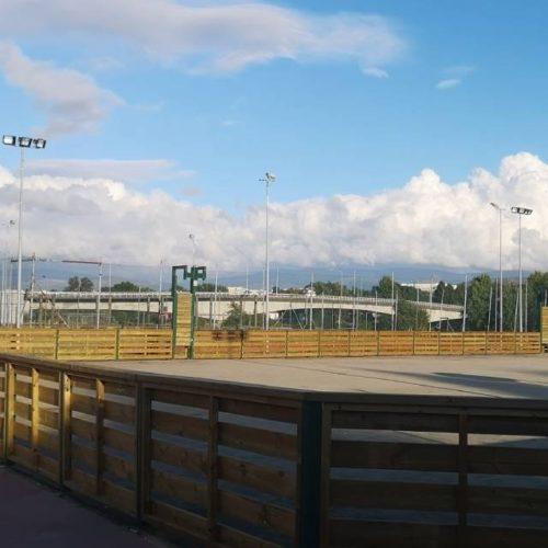 Reformas na zona deportiva do Parque A Canuda en Salvaterra