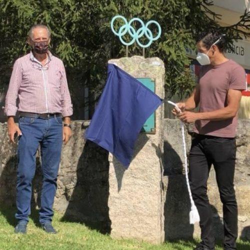 O atleta paralímpico Gustavo Rodríguez xa ten o seu nome na rúa Olímpicos Tudenses