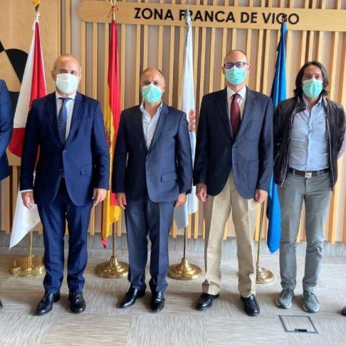 Zona Franca de Vigo e a UNED exploran crear unha Cátedra e accións conxuntas