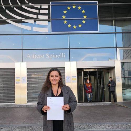"""BNG leva a Bruxelas o """"espolio"""" das eólicas en Galicia"""