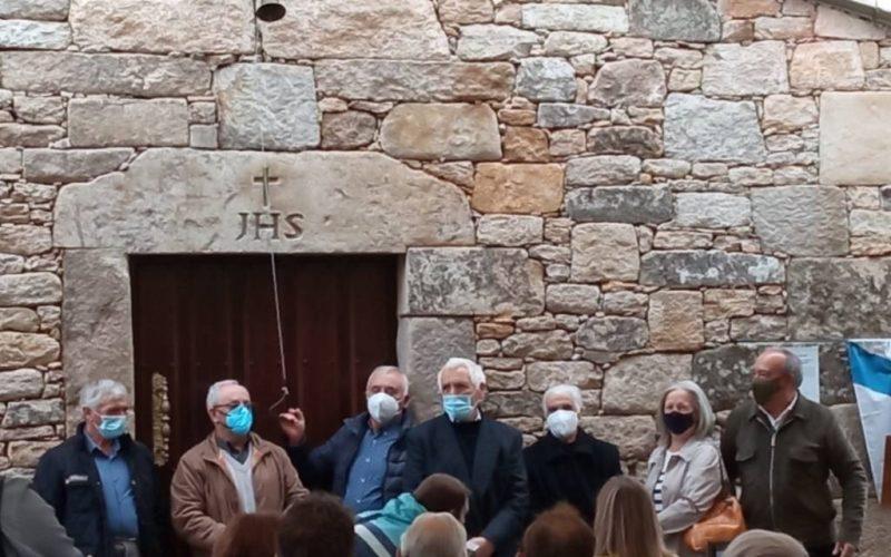 Inauguración da capela de Codeseda.