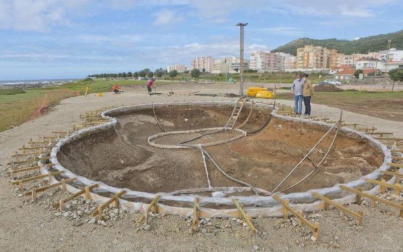 Skate Park está a 'nascer' em vila Praia de Âncora (Caminha)