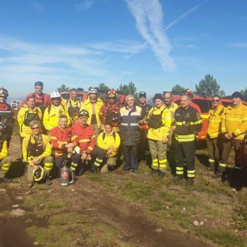 Cerveira acolheu ação prática de formação de técnicos de fogo controlado