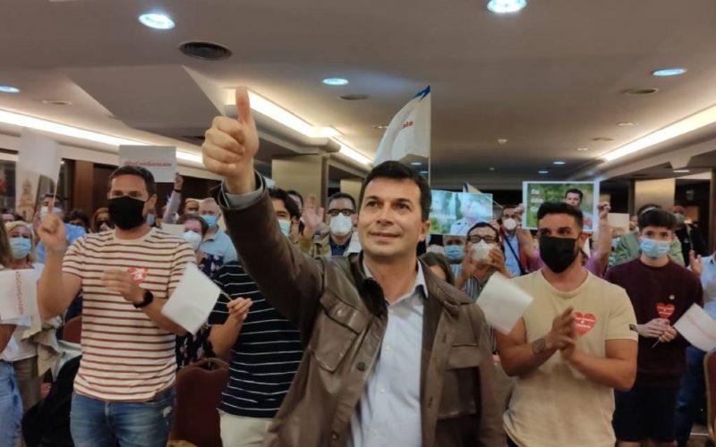Gonzalo Caballero presenta en Vigo a súa candidatura á reelección ao PSdeG
