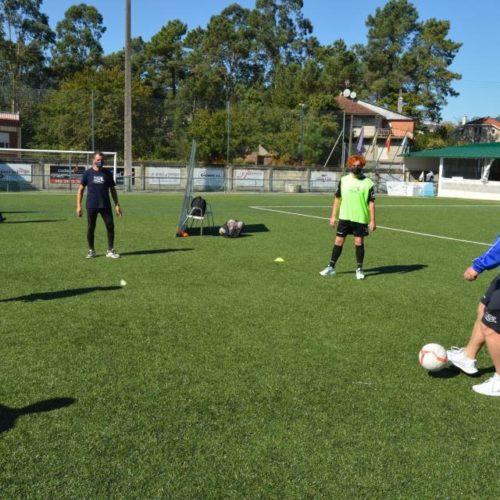 Mos, epicentro do innovador proxecto 'Fútbol a Pie'