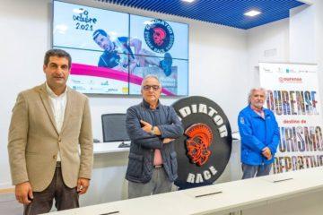 """O complexo turístico do Corgo, en Muíños, acolle a única proba da """"Gladiator Race"""" España en 2021"""