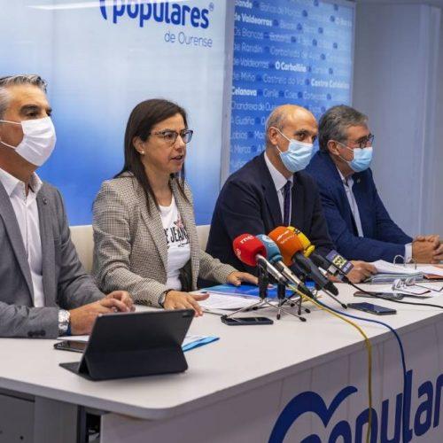 PP denuncia que o PSOE marxina proxectos esenciais para Ourense nos PXE de 2022