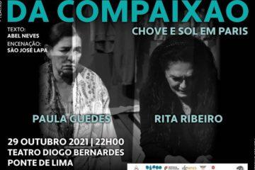 Teatro Diogo Bernardes em Ponte de Lima volta a ter lotação de 100%