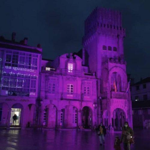 O Porriño terá iluminación especial en catro datas de conmemoración