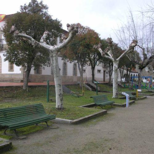 Sober, distinguido cunha bandeira verde de Galicia