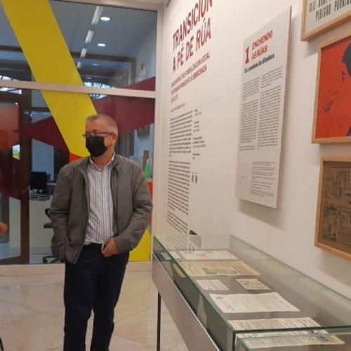"""A Coruña presentou a exposición """"Transición a pé de rúa"""""""