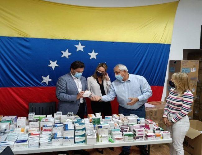 Xunta de Galicia colabora con FEVEGA no envío de axuda humanitaria a Venezuela